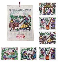 Hand pinted calendar7