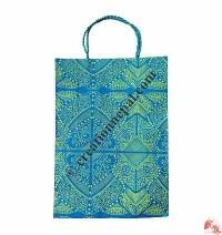 Handmade paper printed bag11