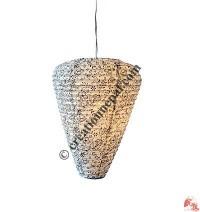Cone shape Lokta paper lampshade