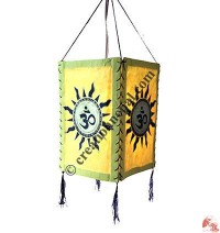 Om-Sun 4-fold paper lampshade