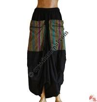 Baggy skirt with Bhutani pocket