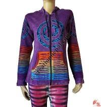3-Chakra rib jacket