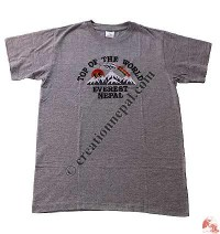 Everest embroidery t-shirt