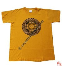 Printed Mandala cotton t-shirt
