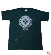 Printed Om-Mandala t-shirt