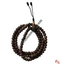Endless knot beads mala