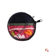 Simple round shape purse