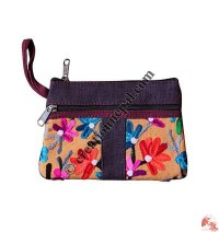 Trapezoid shape hand purse