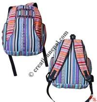 3 Pocket gheri cotton backpack
