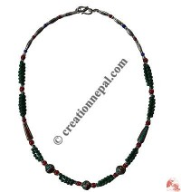 Multi-size beads necklace2