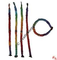 RASTA color cotton wristband