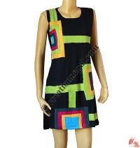 Box patch sinkar dress