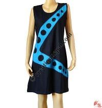 Circles design sinkar dress