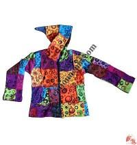 Kids printed patch work Jacket