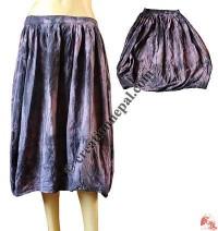 Tie-dye Ballon skirt