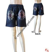 Tie-dye Design Shorts
