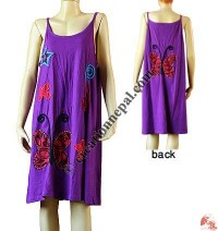 Butterfly patch sinkar dress