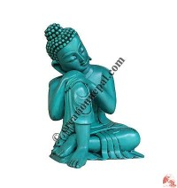 Buddha short-rest resin statue 2