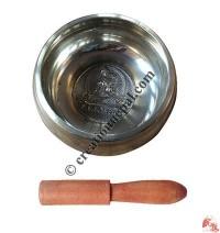 Tara design bronze singing bowl