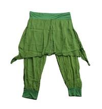 Thin cotton skirt trouser