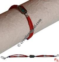 Antique look Turq pote bracelet2
