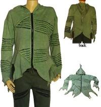 Green rib jacket