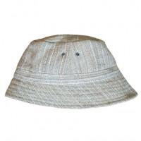 Woven nettle hat