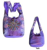 Sun-Om Mantra emb BTC bag