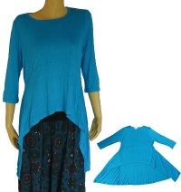 Drape Front viscose dress