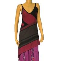 Asymmetrical Khaddar cotton top