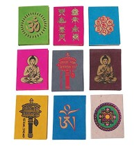 Buddhist signs small notebook