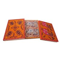 Mithila arts notebook