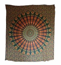Colorful prints cotton Large wall hanging