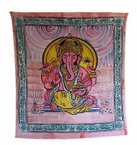 Ganesh brushed print Large wall hanging