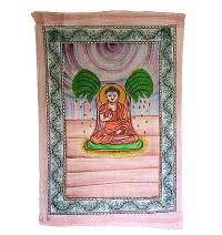 Buddha brushed print Small wall hanging