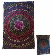 Om Mantra Mandala Small wall hanging