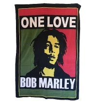 One Love- Bob Marley Small wall hanging