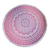 Cotton mandala printed Round Table cover3