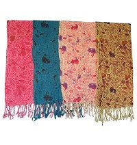 Animal prints cotton scarves