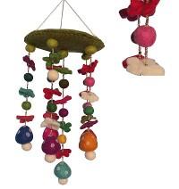 Felt Mushroom chandelier