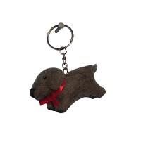Felt Puppy key ring