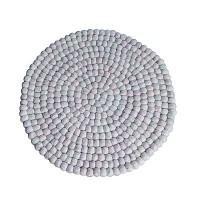 40 cm Circle shape felt mat2