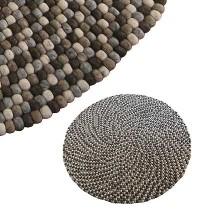 140 cm Circle shape felt rug