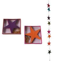 Large stars Lokta paper decorative garland