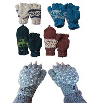 Cover gloves with assorted design