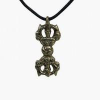 Brass tiny Dorje pendent