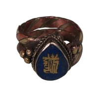 3-metal Kalachakra finger ring