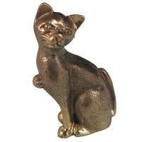 Sitting cat tiny statue