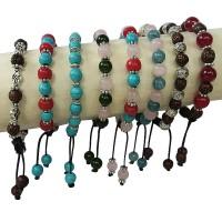 Multiple 8mm beads assorted bracelet