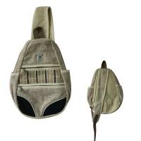 One strap triangular shape backpack